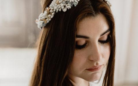 La Corona de Flores de Novia, el tocado Ideal